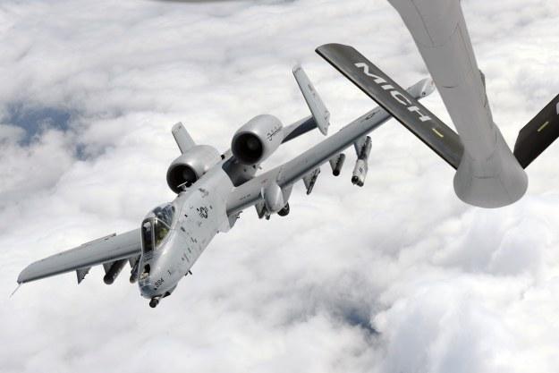 A-10C Thunderbolt II.  Fot. U.S. Air National Guard photo/Master Sgt. David Kujawa /materiały prasowe