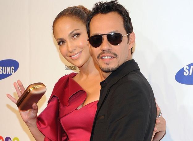 A było tak pięknie - Jennifer Lopez i Marc Anthony na tydzień przed separacją - fot. Jason Kempin /Getty Images/Flash Press Media