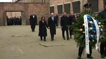 A. Duda i M. Pence oddali hołd zgładzonym i więzionym w Auschwitz