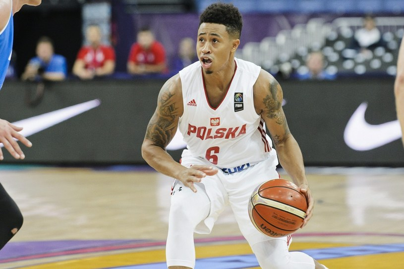 A.J. Slaughter to as reprezentacji Polski. Fot. Roni Rekomaa /East News