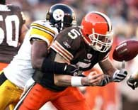 ... a Jeff Garcia z Browns /AFP