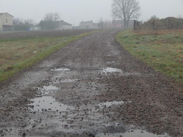 A jeszcze nidawno droga wyglądała tak... /Sławomir Brombosz / Polska Press /East News