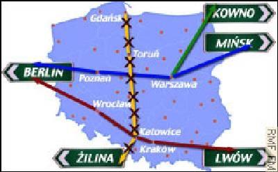 A! ma przebiegać między Gdańskiem a Gorzyczkami /RMF