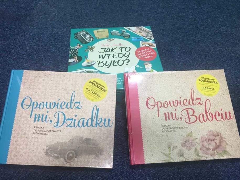 A może taki prezent na Dzień Babci i Dziadka? /Katarzyna Sobiechowska-Szuchta /RMF FM
