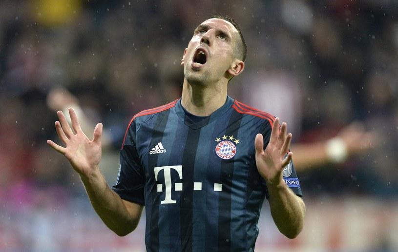 """A może to Franck Ribery zdobędzie """"Złotą Piłkę""""? /AFP"""