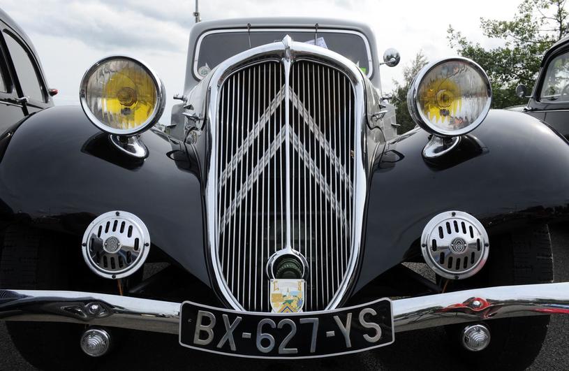 A taki Citroen był ulubionym samochodem funkcjonariuszy Gestapo. Przypadek? /AFP