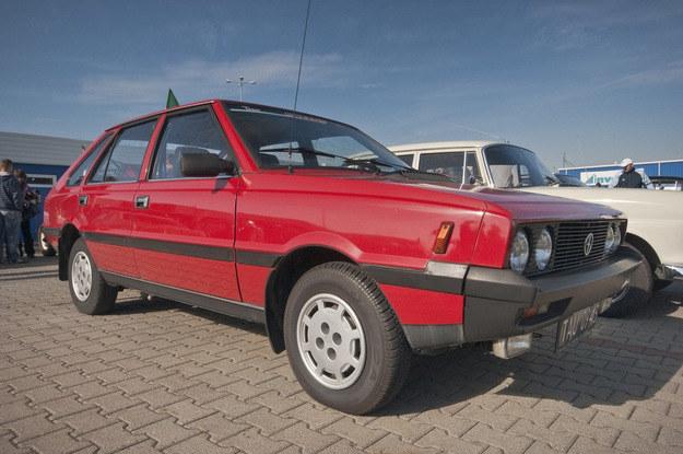 A to już auto po wielu modernizacjach /Witold Skrzypczak /Reporter