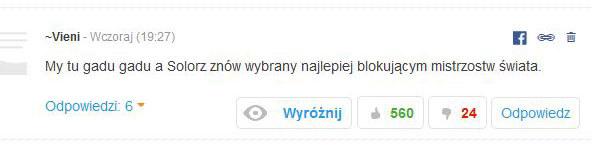 A to komentarz jednego z internautów /INTERIA.PL