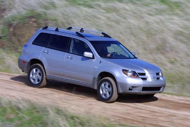 A to ostatnia propozycja Mitsubishi - model SUV, Outlander (kliknij) /INTERIA.PL