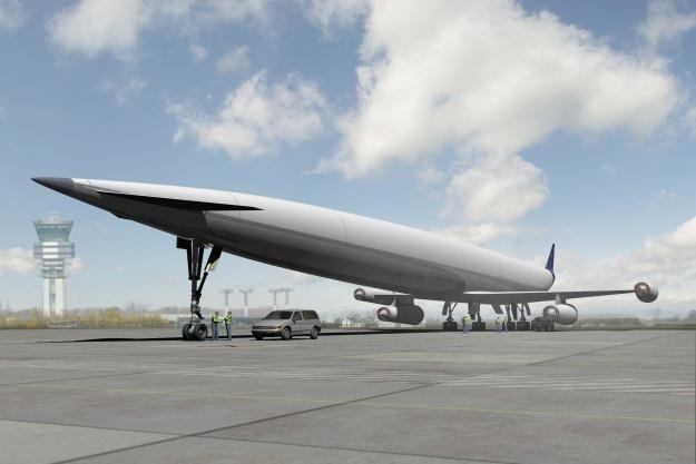 A2 będzie wykonywał loty z prędkością 6 tys. km/h     Fot. Reaction Engines Ltd /materiały prasowe