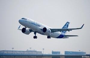 A320neo po raz pierwszy w powietrzu