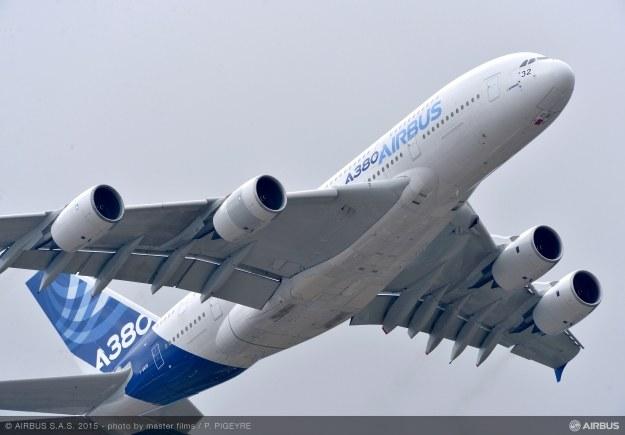 A380.  Fot. Airbus /materiały prasowe