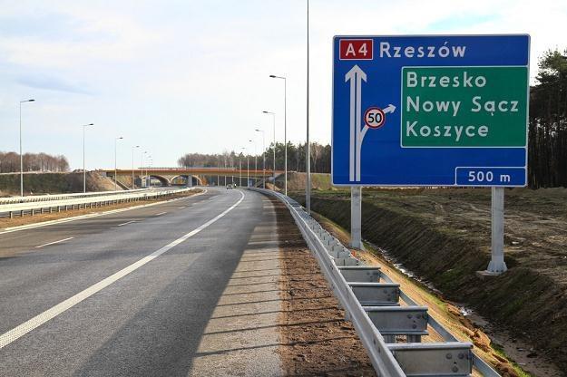 A4 do Rzeszowa i na Ukrainę mieliśmy pojechać przed Euro... / Fot: Jan Graczyński /East News