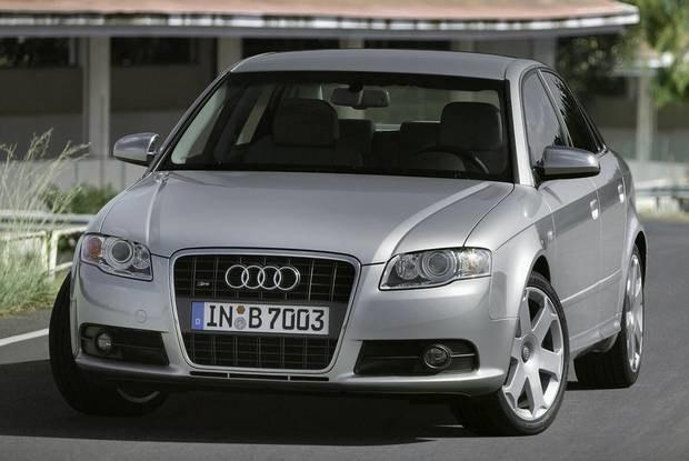 A4 jest najpopularniejszym modelem Audi / Kliknij /INTERIA.PL