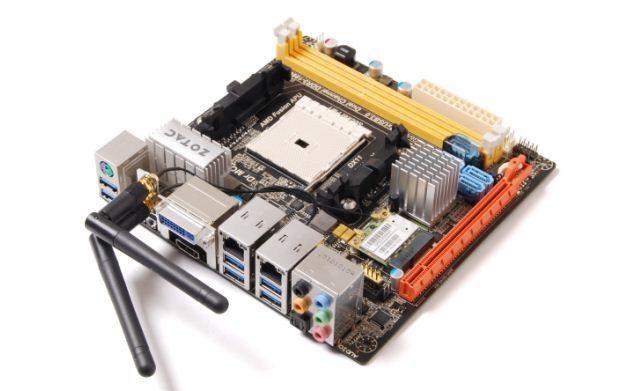 A75-ITX WiFi - zdjęcie płyty głównej /Informacja prasowa