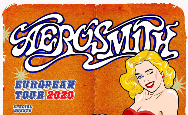 Aaerosmith 2020 European Tour. Rival Sons wystąpią jako support!