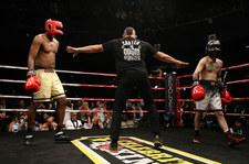 Aaron Carter starł się z Lamarem Odomem podczas Celebrity Fight Night