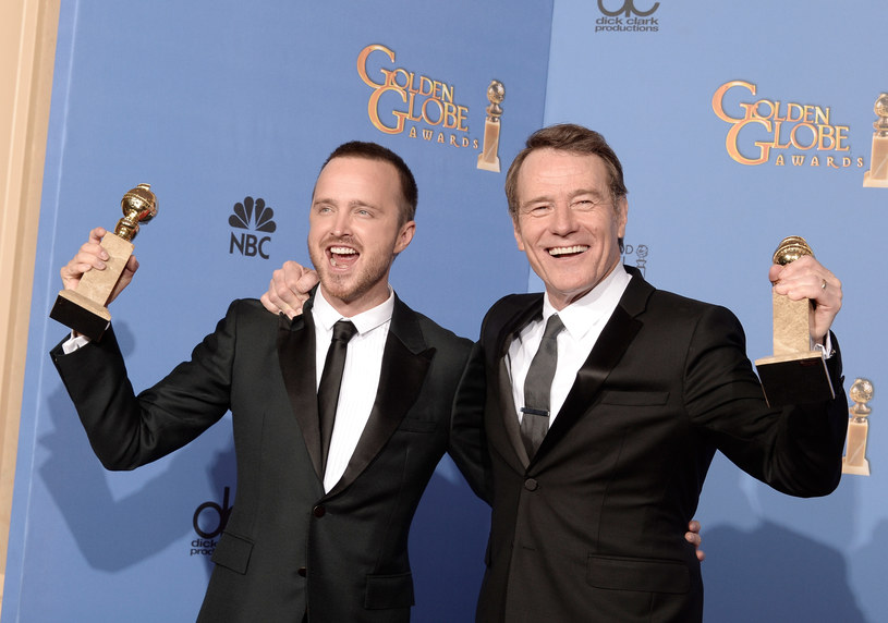 Aaron Paul, Bryan Cranston /Kevin Winter /Getty Images