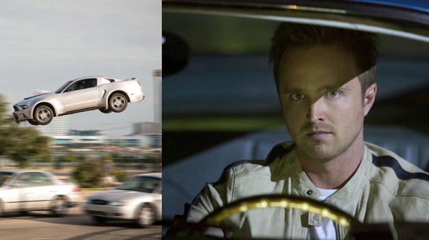 """Aaron Paul i legendarny Mustang będą głównymi gwiazdami filmu """"Need for Speed"""". /materiały dystrybutora"""