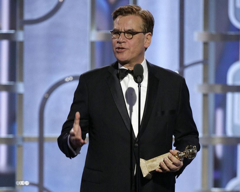 """Aaron Sorkin i jego scenariusz do filmu """"Steve Jobs"""" nie powtórzą sukcesu z rozdania Złotych Globów. /Getty Images"""