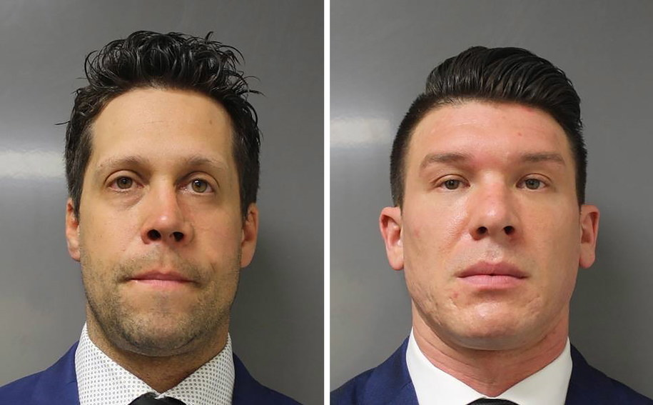 Aaron Torgalski i Robert McCabe oskarżeni o napaść na 75-latka /ERIE COUNTY DA / HANDOUT /PAP/EPA
