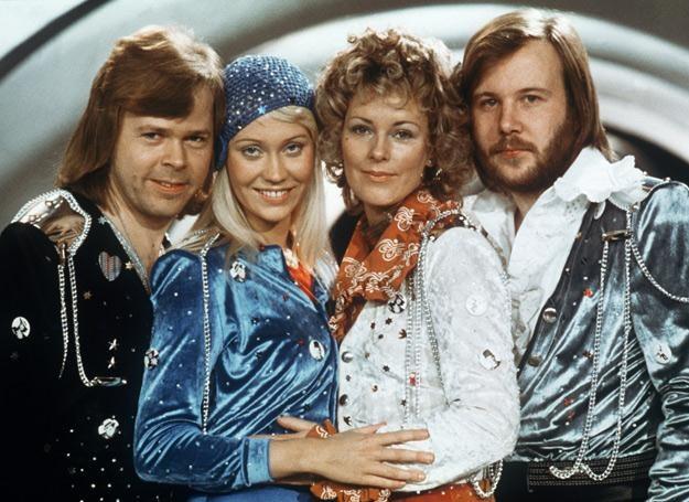 ABBA w połowie lat 70. (Agnetha Faltskog druga z lewej) /arch. AFP