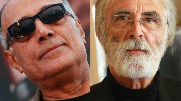 Abbas Kiarostami (L) i Michael Haneke (P) znają już smak zwycięcstwa w Cannes /Getty Images/Flash Press Media
