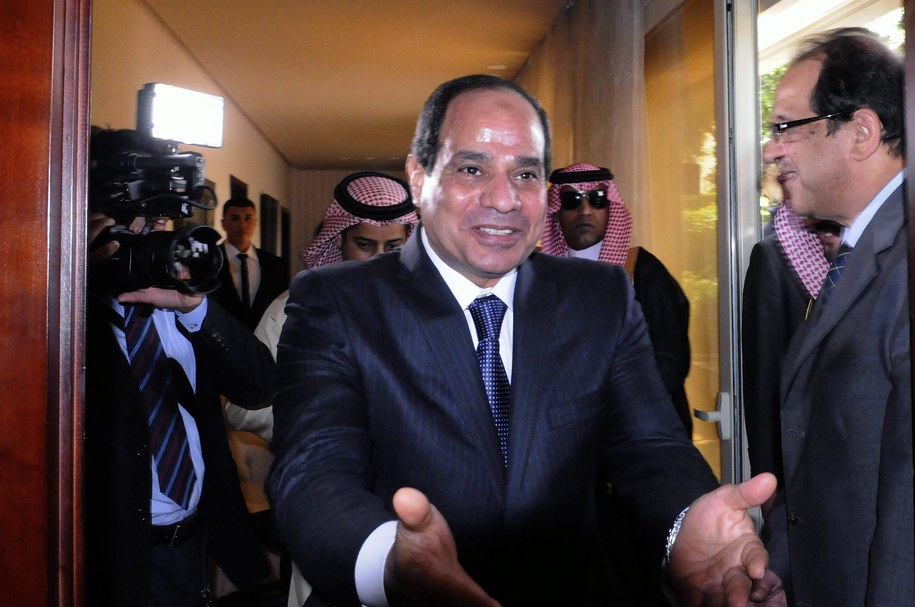 Abd el-Fatah es-Sisi /MOHMAD ASAD /PAP/EPA