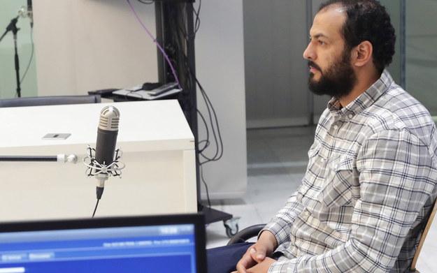 Abdeldżalil Ait Al-Kaid przed sądem w Barcelonie /foto. ZIPI  /PAP/EPA