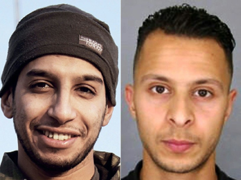 Abdelhamid Abaaoud i Abdeslam Salah /AFP
