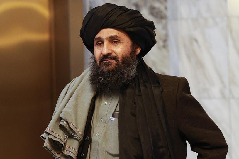 Abdul Ghani Baradar w marcu br. /ANADOLU AGENCY /Getty Images