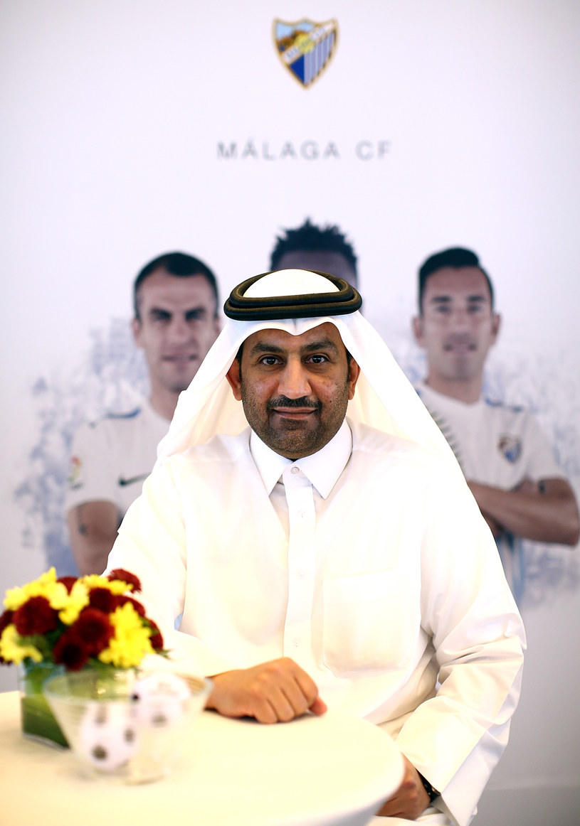 Abdullah Al-Thani, właściciel Malagi /Jan Kruger /Getty Images