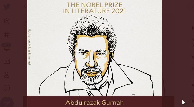 Abdulrazak Gurnah, laureat literackiej nagrody Nobla Abdulrazak Gurnah /