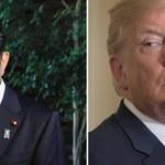 """Abe i Trump o wystrzeleniu pocisku przez Koreę: """"Nieodzowna jest współpraca z Chinami i Rosją"""""""