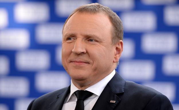Abonament jest podatkiem, pieniądze z niego płyną do TVP i PR. Nz. prezes TVP Jacek Kurski /PAP