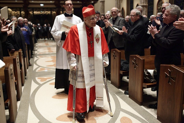 ABP Chicago kardynał Francis George /Joshua LOTT / GETTY IMAGES NORTH AMERICA / AFP /AFP