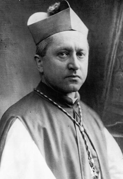 abp metropolita gnieźnieński August Hlond, zdjęcie z 1932 r. /Ze zbiorów Narodowego Archiwum Cyfrowego