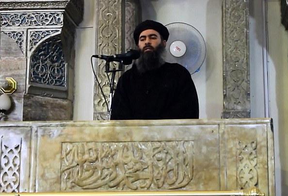 Abu Bakr al-Bagdadi, przywódca IS /Al-Furqan Media/Anadolu Agency/Getty Images /Getty Images