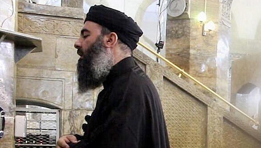 Abu Bakr al-Bagdadi /SalamPix/Abaca /PAP/EPA