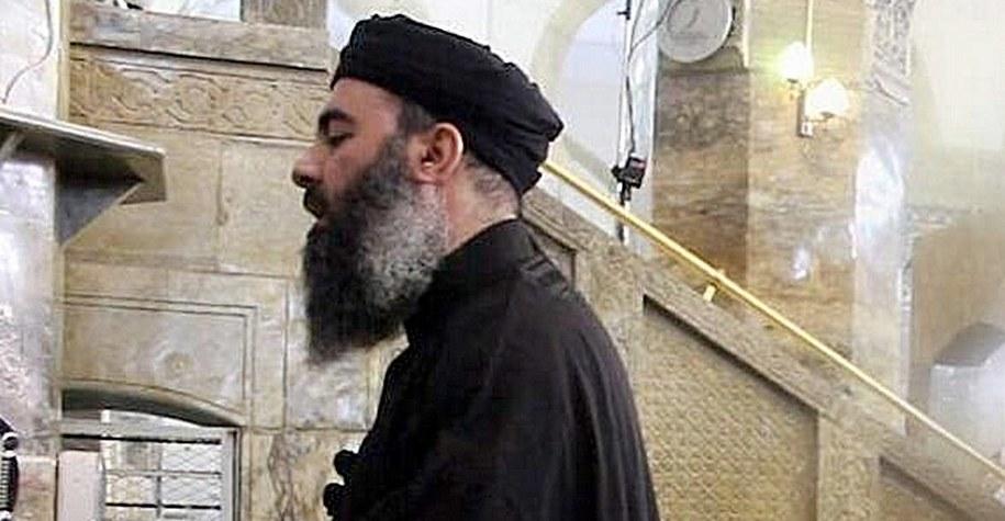 Abu Bakr al-Baghdadi /SalamPix/ABACA /PAP/Abaca