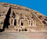 Abu Simbel, świątynia Ramzesa II /Encyklopedia Internautica