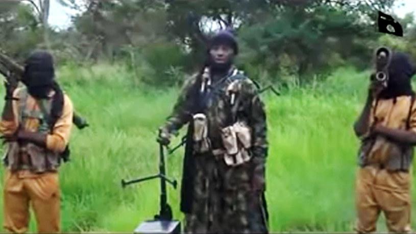 Abubakar Shekau lider dżihadystów z Boko Haram /AFP