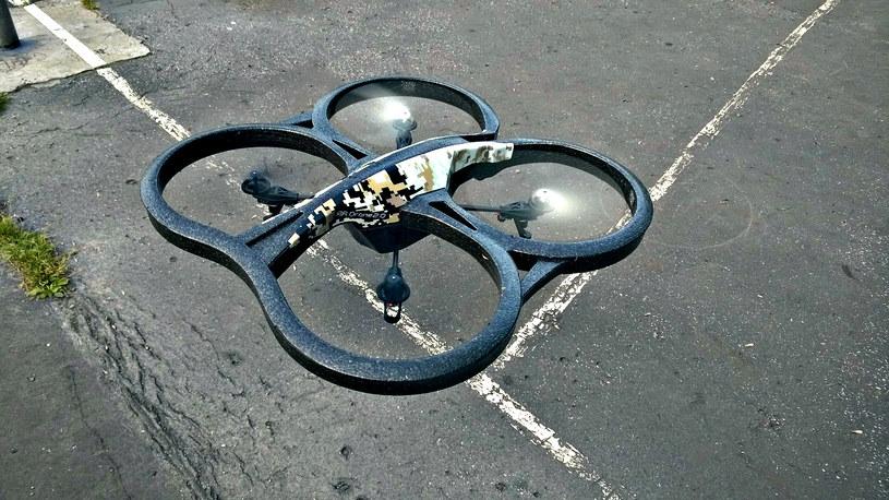 Aby dron uniósł się w górę wystarczy naprawdę niewiele... /INTERIA.PL