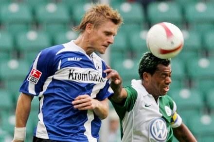 Aby nie stracić formy Wichniarek zagrał w poznańskim turnieju /AFP