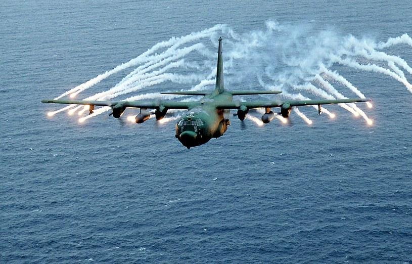 AC-130 w akcji /AFP