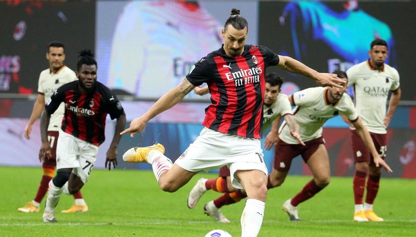 AC Milan - AS Roma 3-3 w 5. kolejce Serie A