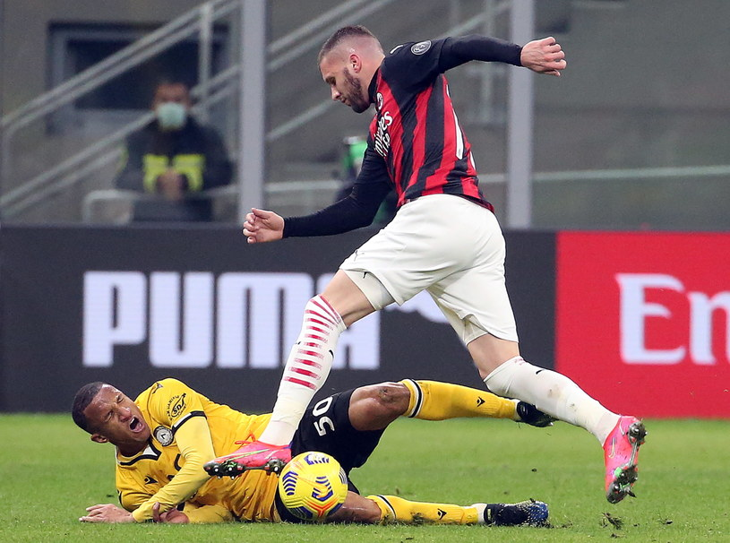 AC Milan - Udinese Calcio /MATTEO BAZZI    /PAP