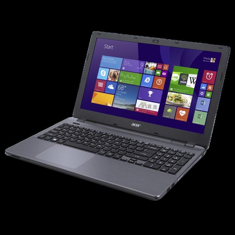 Acer Aspire E5 /materiały prasowe