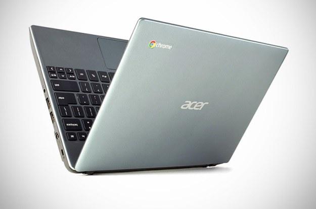 Acer Chromebook C7. Sprzęt dostępny jest w sieci Vobis /materiały prasowe