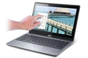 Acer prezentuje Chromebooka z dotykowym ekranem